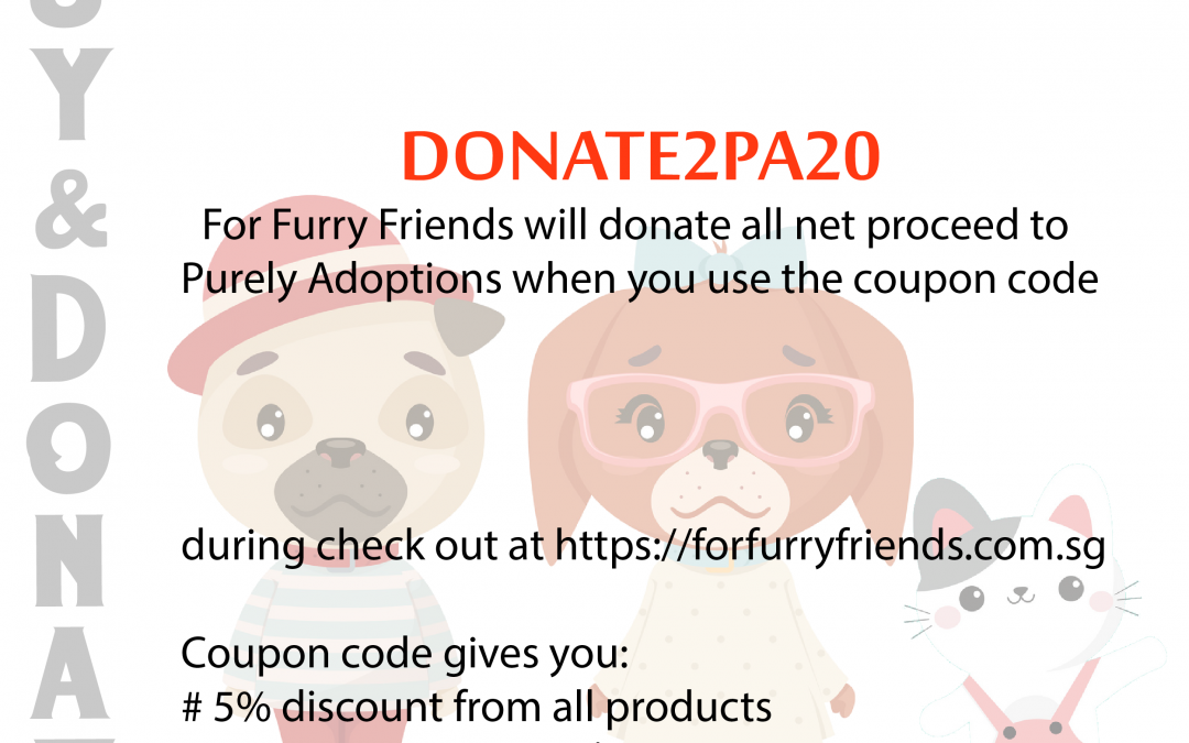 Buy & Donate & Lucky Draw!